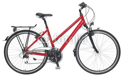 Fahrrad rot