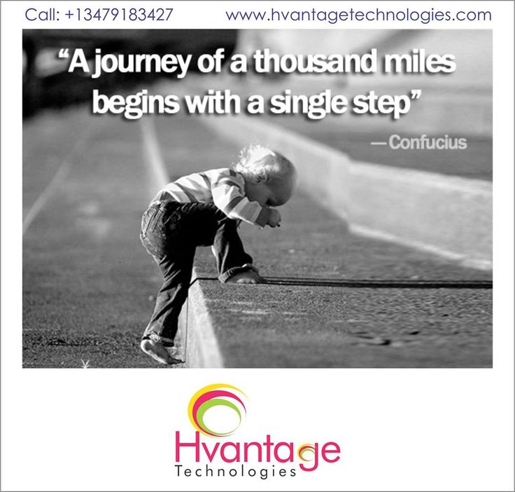 You don't have to see the whole staircase, just take the first step. #HvantageTechnologies