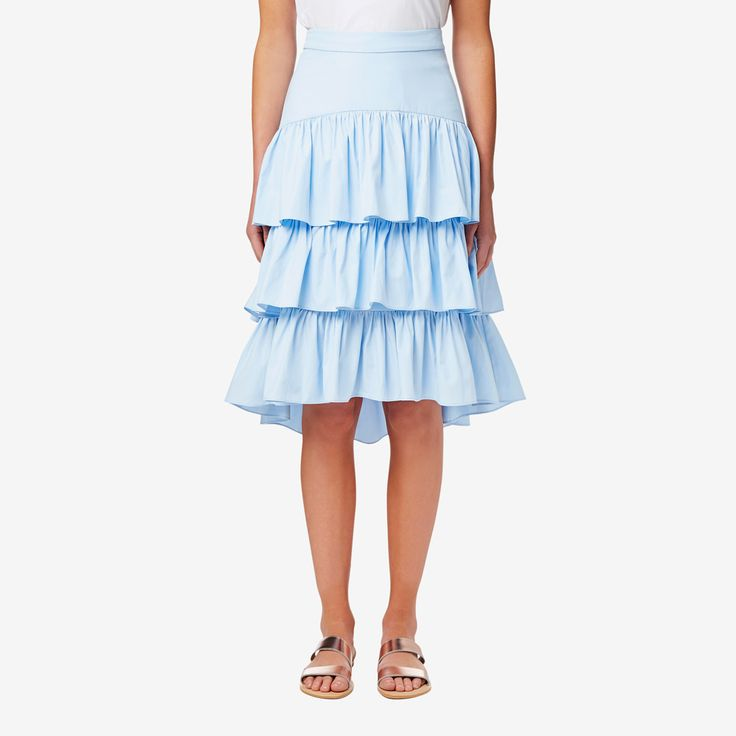 Shop now: Tiered Frill Skirt. #seedheritage #seed #woman