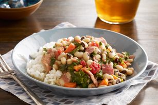 Slow-Cooker Black-Eyed Peas recipe #SlowCookerRecipes