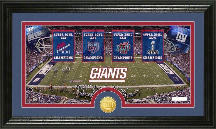 "AAA Sports Memorabilia LLC New York Giants ""Traditions"
