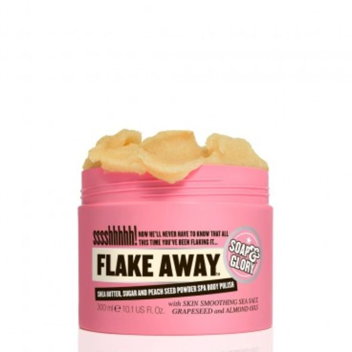 The Ten Best Drugstore Body Scrubs // #1 Soap & Glory Flake Away™ Body Polish // Check out the rest of the best here!