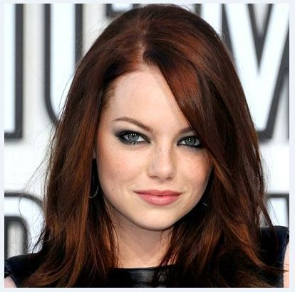 dark auburn hair color pictures