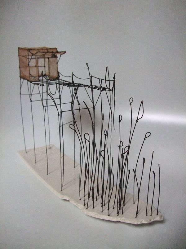 'Cabane du lac' par Isabelle Bonte 'du Fil de Fer'