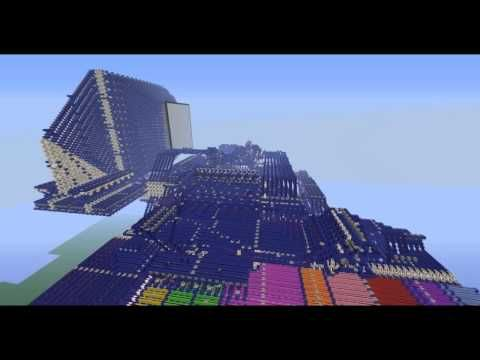 "Redstone computer in Minecraft ""BlueStone"""