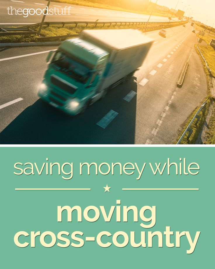 Best moving options cross country