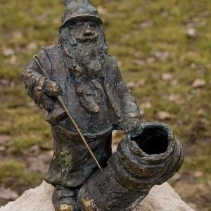Bartek the gnome from Shoeland, (or Bootland), transferred to Warsaw (Poland)  Bartek z Butolandii  Przeniesiony do Warszawy