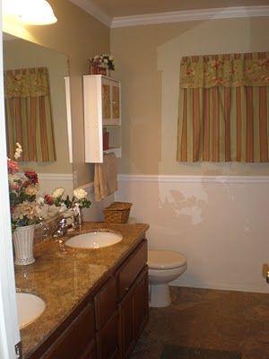 Inexpensive Flooring Update Bathroom Re Do
