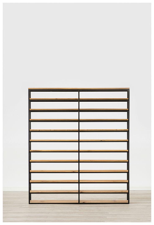 Estantería #Balerdi #Furniture #wood #iron #furnituredesign #design #diseño  #