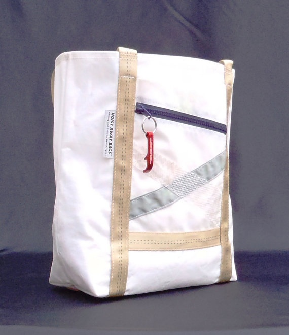 recycled sailcloth on etsy
