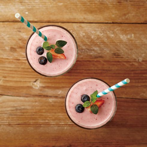 Strawberry Frozen Smoothe /IDEA SEVENTH SENSE ONLINE SHOP #Pink #Smoothie