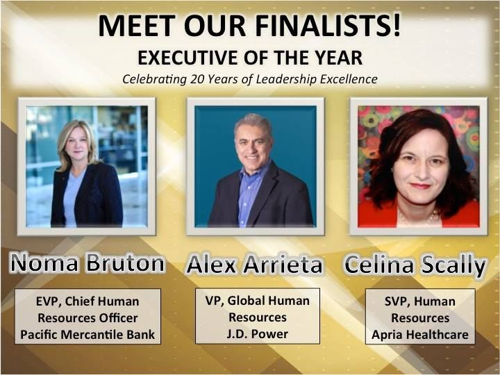 Noma Bruton - HR Executive of the Year Nominee - NHRA - Orange County, CA 2015