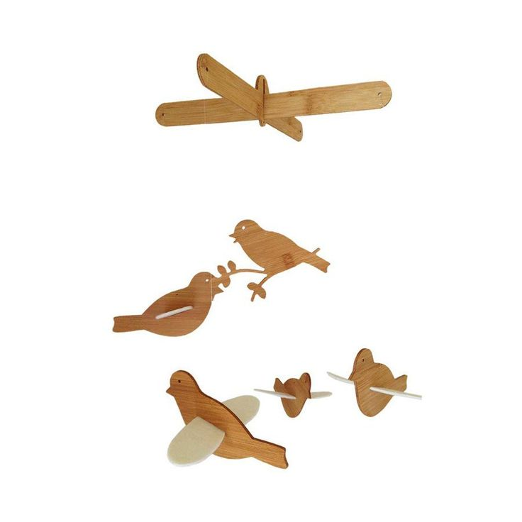 Mobile - Flying Birds - Cot Mobiles - Baby Belle