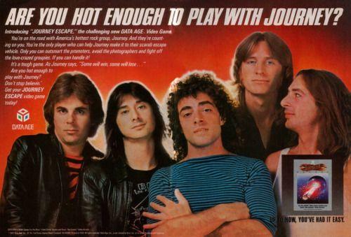 pop-sesivo: Cuando la banda Journey tuvo su propio videojuego.
