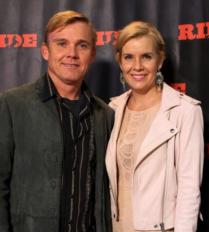 #TheFlashList | by @sherritilley | #Interview | Actor #RickySchroder (shown here with wife Andrea) talks about directing films, riding horses, loving the Western lifestyle, and being introduced to RIDE TV. http://www.theflashlist.com/assets/entertainment/actors/rickyschroder/interviews/14-11-21/dallas.html