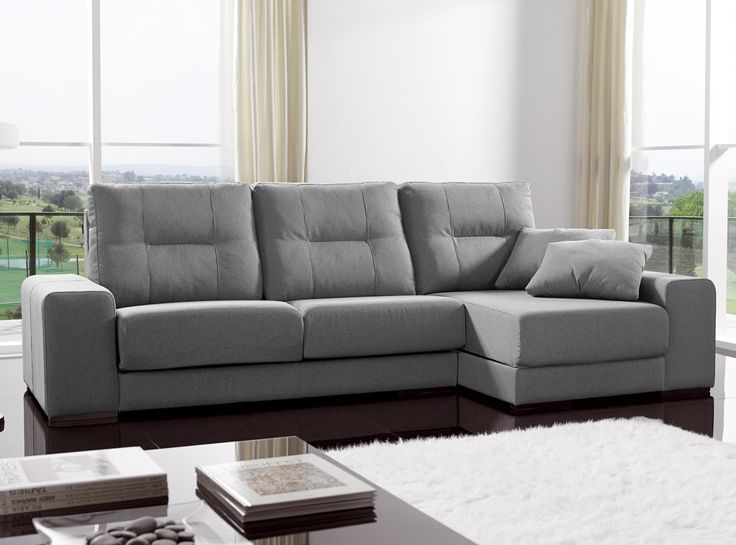Sofa chaise longue medidas cheap with or without as well - Chaise longue modernos ...