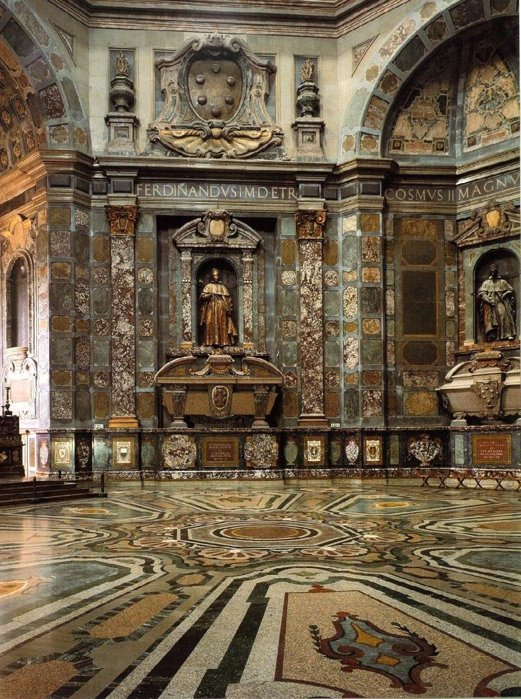 Chapel of the Princes, Basilica of San Lorenzo, Florence. Renaissance