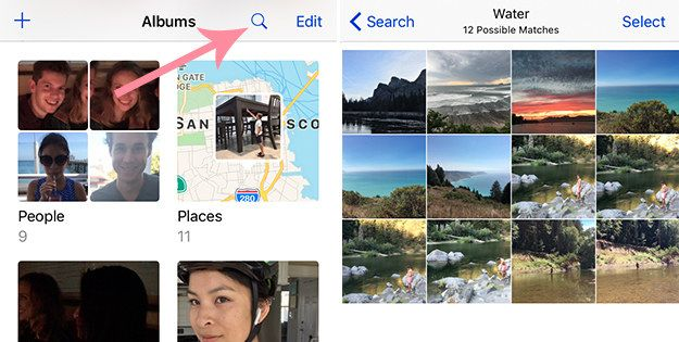 The Photos app has a lot of new features too. Now you can search for people, places, or things. | 17 Things You Didn't Know Your iPhone Could Do With iOS 10
