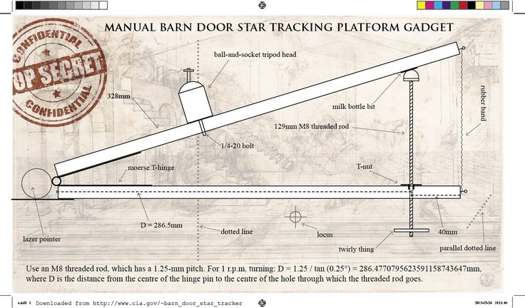 Make A Barn Door Tracker