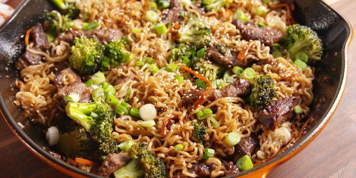 Instant ramen noodles never tasted so good.