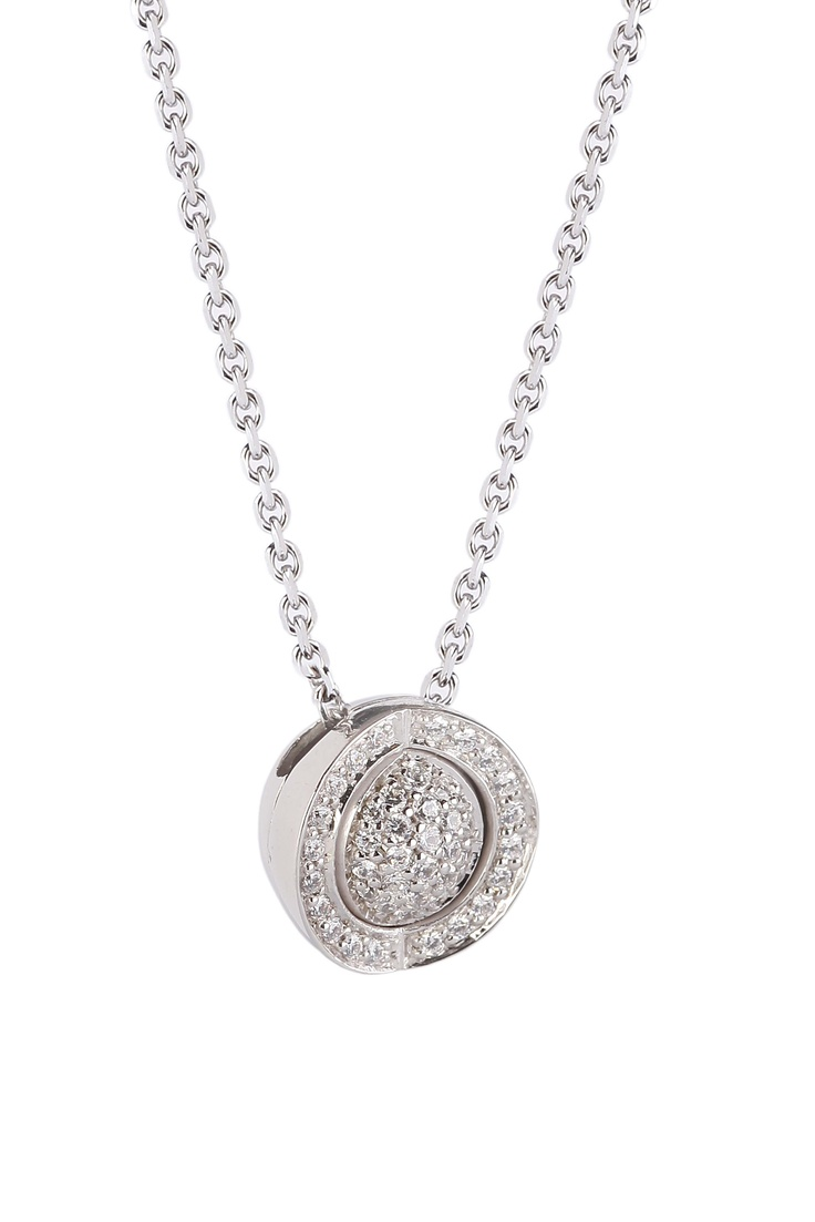 Joy de la Luz | Necklace cz silver/cz silver  €110,00