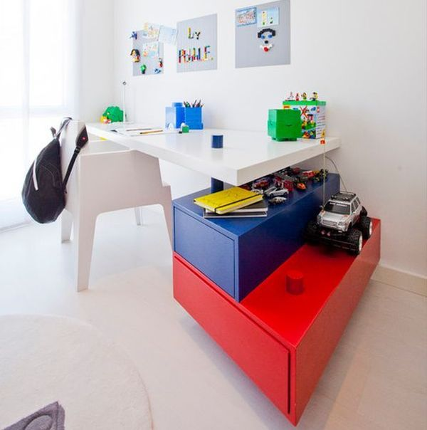 lego furniture for kids rooms. 29 kidsu0027 desk design ideas for a contemporary and colorful study space lego kids roomstoy furniture rooms