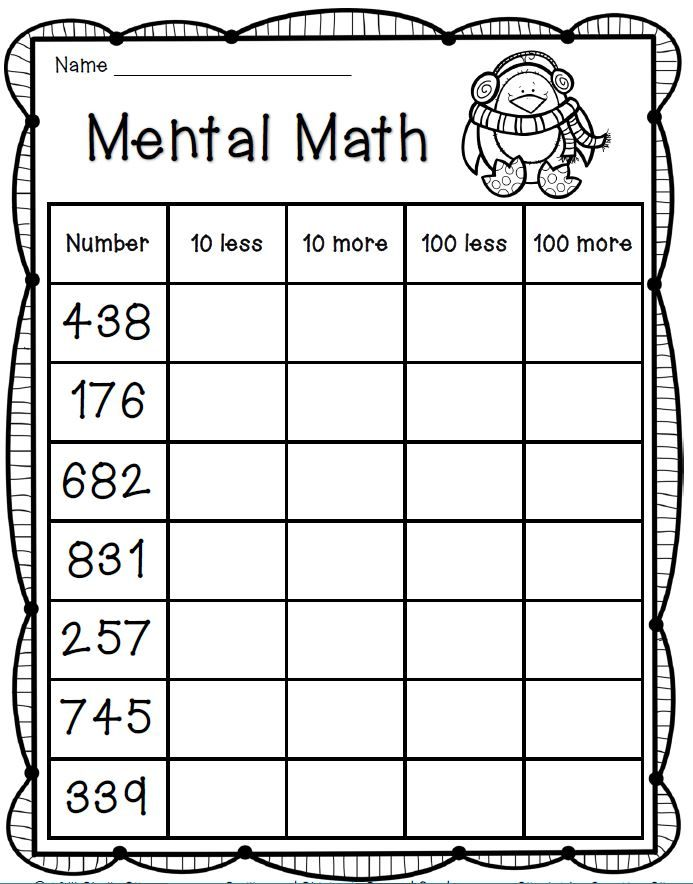Printables Enrichment Math Worksheets 1000 ideas about math enrichment on pinterest early finishers behavior adding and subtracting 10 100 using place value condition by filling in the worksheet mental strategies