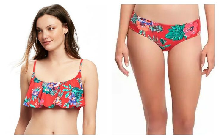 Old Navy Ruffle-Trim Bandeau Bikini Top http://www.womenshealthmag.com/style/best-swimsuits-for-small-bust/slide/2
