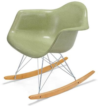 Arm Shell Rocker Molded Fiberglass Chair Shell Chair Modernica   Molded Fiberglass  Rocking Chair At Www.