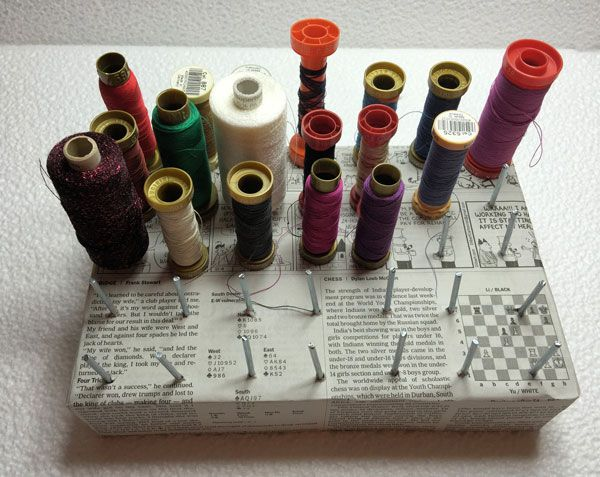 Voglio il mondo a colori: Organizzare i rocchetti di filo