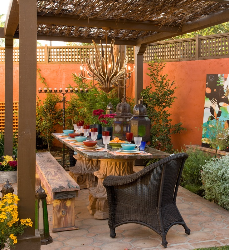 31 best images about mediterranean on pinterest garden for Pinterest outdoor garden rooms
