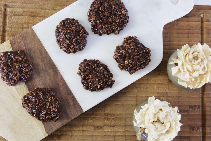 Çikolatalı, Fıstık Ezmeli Pişmeyen Kurabiye | İdil Tatari