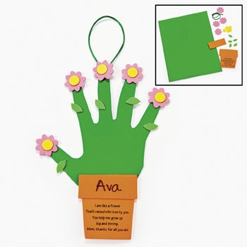 another Handprint Flower Craft (this one has a poem)