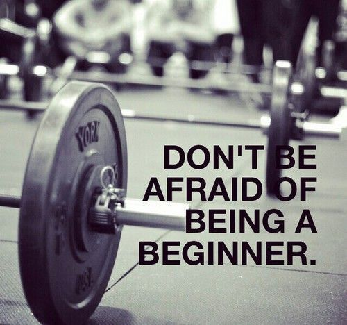 in-pursuit-of-fitness: Don't be Afraid on We Heart It - http://weheartit.com/s/OcUuuNCn