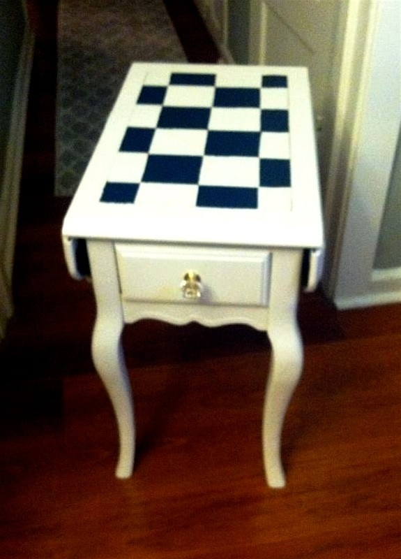 shabby chic furniture vancouver. shabby chic handpainted end table gladis cottage furniture vancouver
