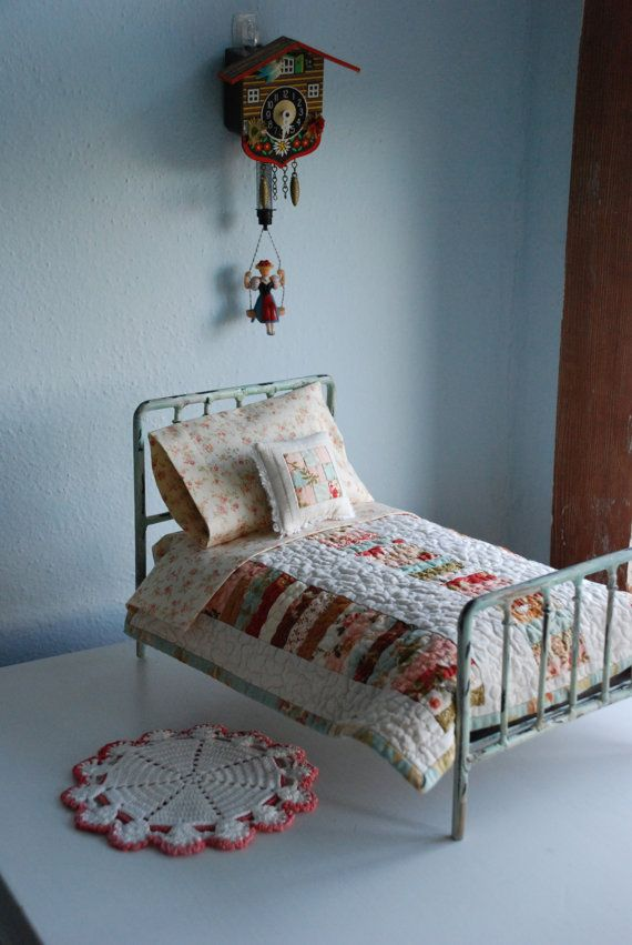 Cute Doll Bed Quilt