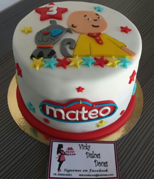 Tarta Caillou y Gilber                                                                                                                                                     More