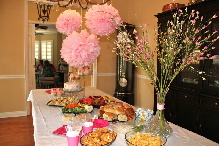 baby shower baby shower ideas girl pinterest