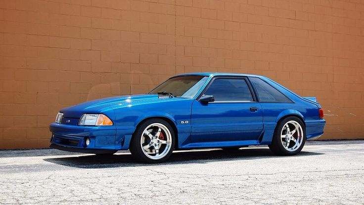 5.0 Fox, Mustang. Someday I'll own one again like this, not letting her go. Maybe a matte finish instead
