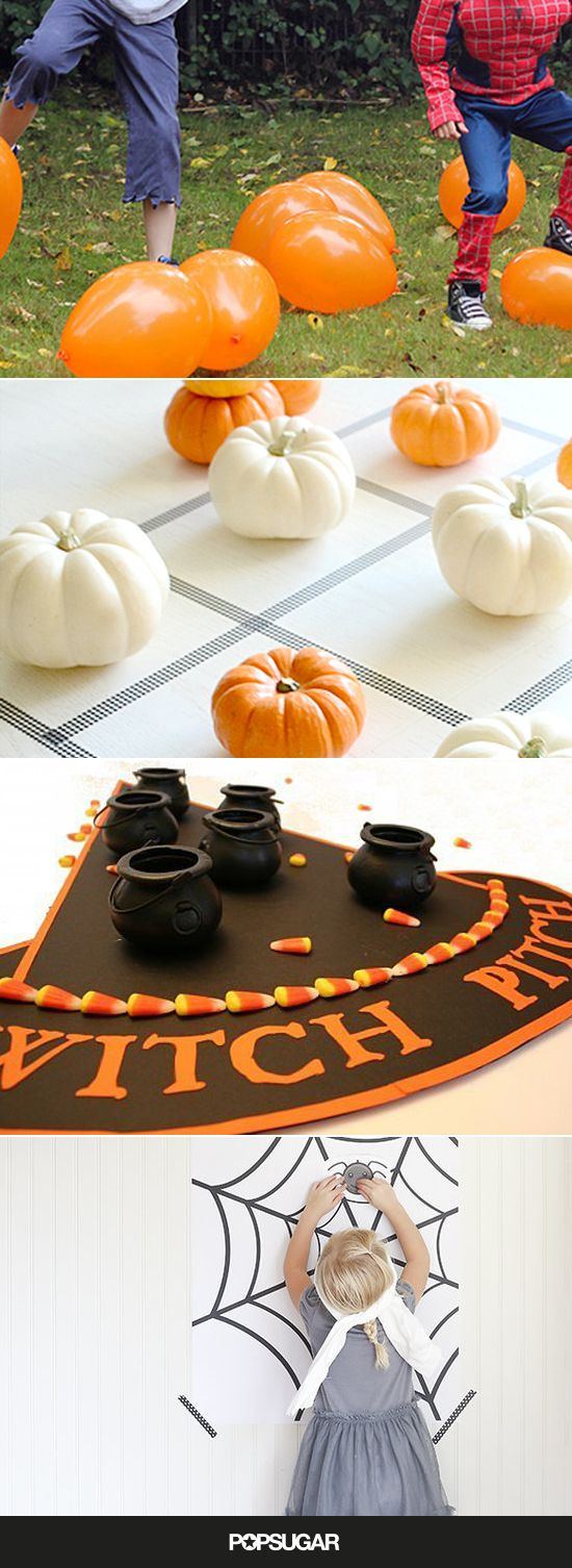 With options like the pumpkin patch stomp and the eyeball roll, check out these spooktacular Halloween games to liven up your party!