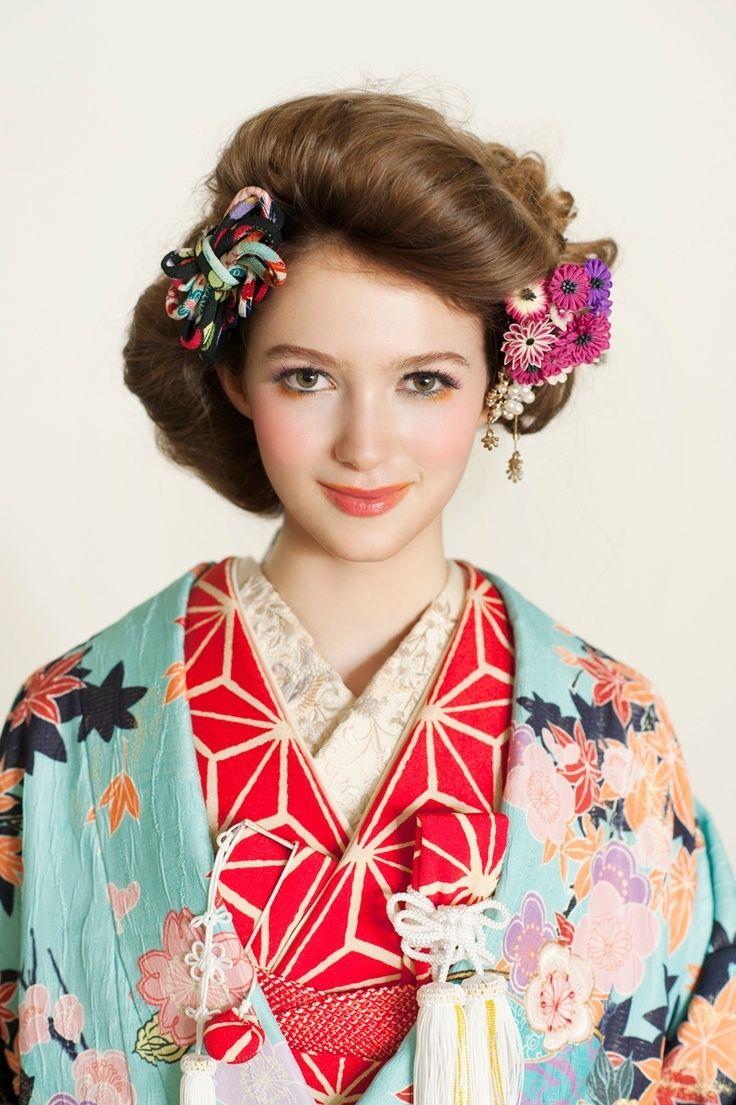 可愛い♡ロマンチックな和装のイメージをあつめましたにて紹介している画像                                                                                                                                                      もっと見る