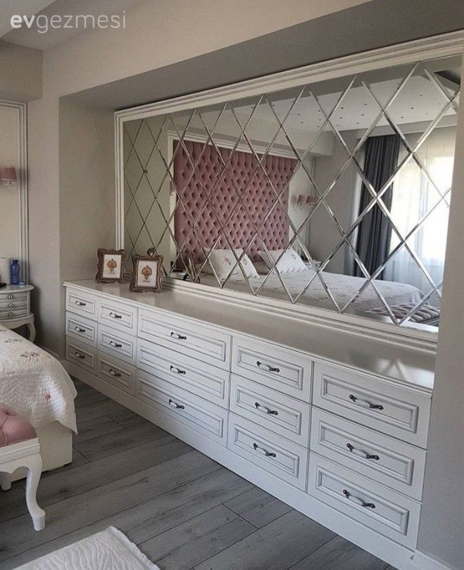 Ayna, Yatak Odası