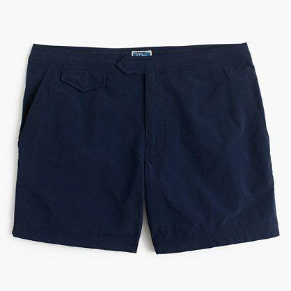 "J.Crew Mens 6.5"" Tab Swim Short"