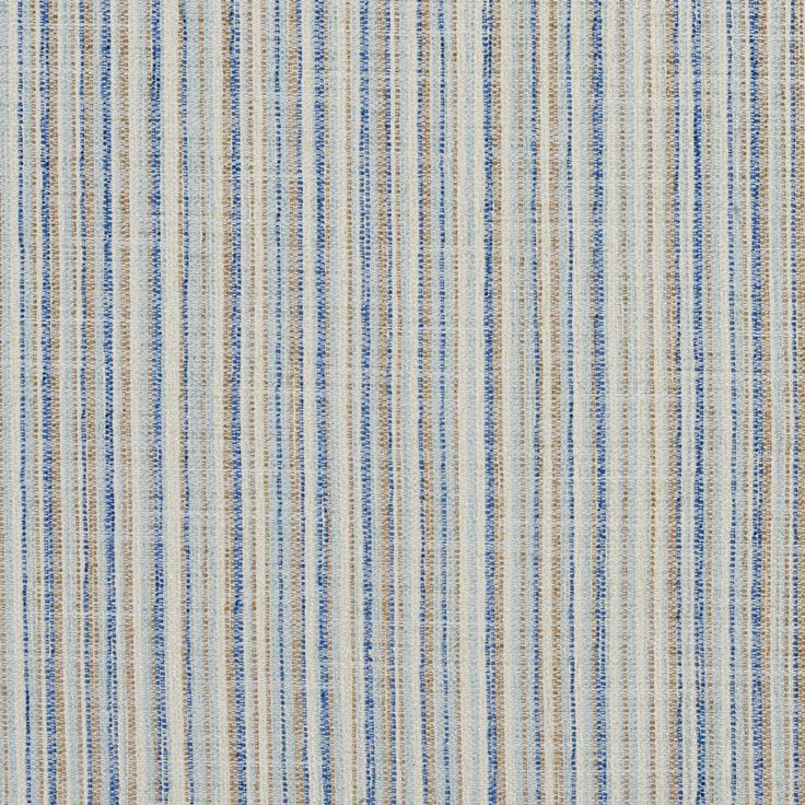 The K1196 COASTAL upholstery fabric by KOVI Fabrics features Small Scale, Stripe pattern and Beige or Tan or Taupe, Light Blue as its colors. It is a Tweed type of upholstery fabric and it is made of 100% Woven polyester material. It is rated Exceeds 60,000 Double Rubs (Heavy Duty) which makes this upholstery fabric ideal for residential, commercial and hospitality upholstery projects. This upholstery fabric is 54 inches wide and is sold by the yard in 0.25 yard increments or by the roll…