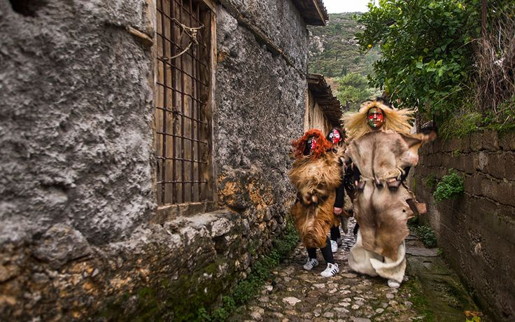 Apokries in Pictures: Greece's Most Colorful Carnival Traditions