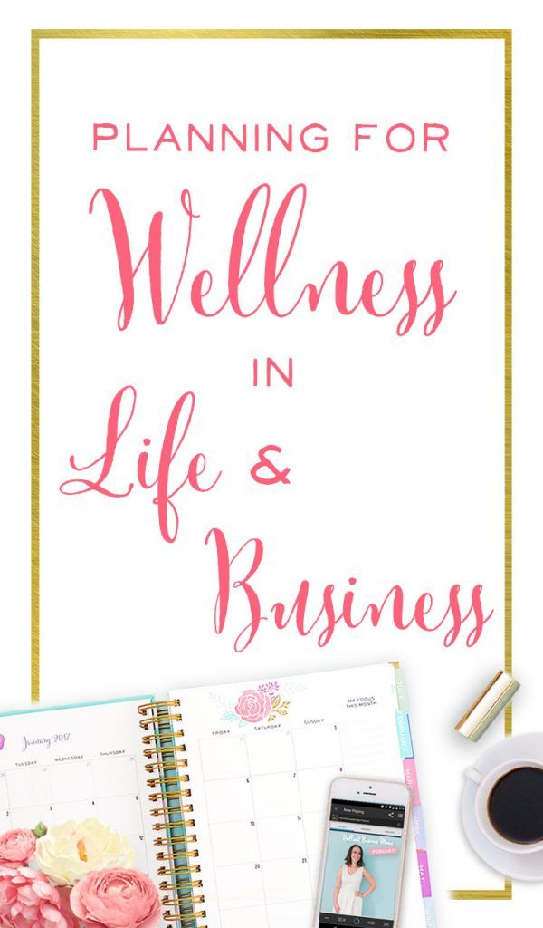 I loved this interview with Leesha, who's learned how to find balance and use her planner to find health and wellness in both her life and business.