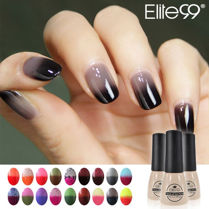 Elite99 UV Nagellack Thermo Farbwechseln Nail Art Gel Polish Thermolack Nagelgel