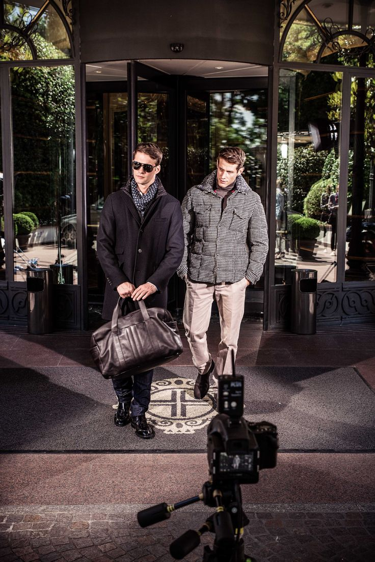Fall - Winter 2013/14 campaign: frames from the backstage.