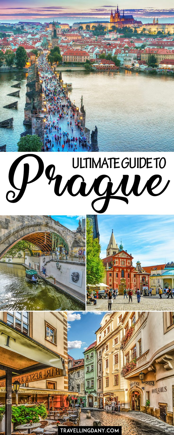 Ultimate guide to Prague, capital of the Czech Republic. Includes a handy daily itinerary with tips and tricks for 2, 3, 4 or more days. Bonus: day trips from Prague! | #prague #europeantrip #europe #Czechrepublic #europeancountries