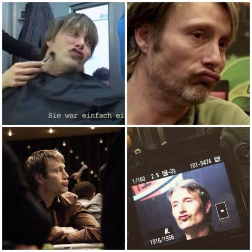 Mads Mikkelsen (Master of the duck face.)